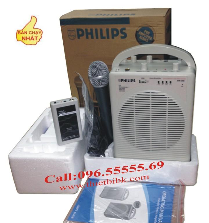 Máy trợ giảng PHILIPS DM-390 có 3 micro