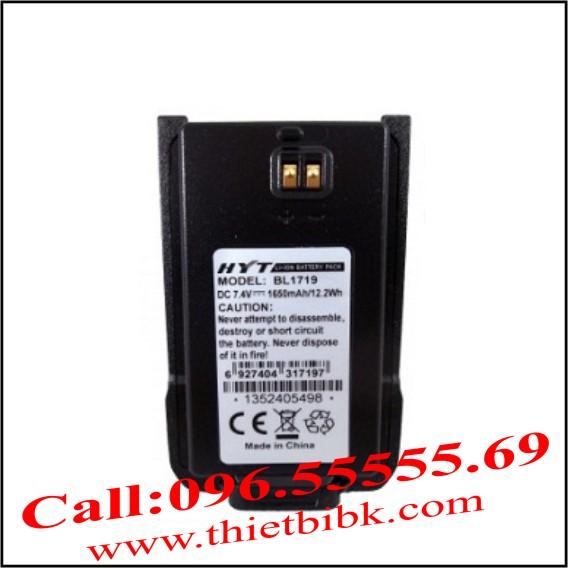 Pin máy bộ đàm HYT TC-500s BL1719
