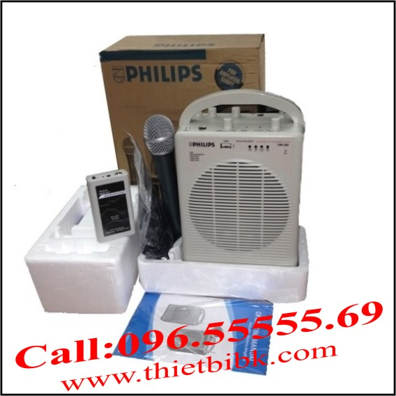 Máy trợ giảng PHILIPS DM-390 co 3 MICRO