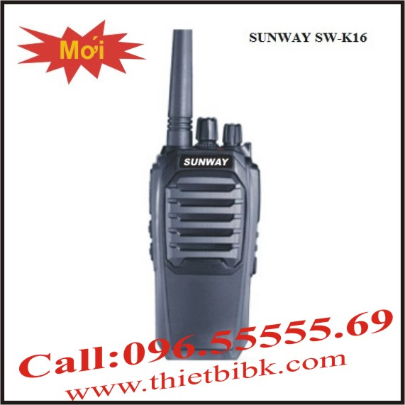 Bộ đàm SUNWAY SW-K16 High Power 8W