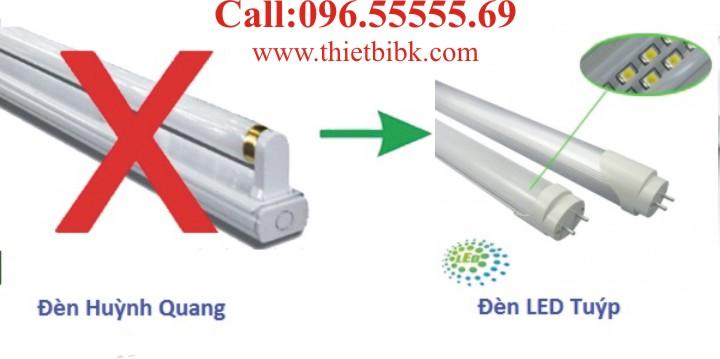 Đèn Tuýp led vi sóng cảm ứng chuyển động Kawa MS18W 20W lắp thay thế đèn tuýp huỳnh quang