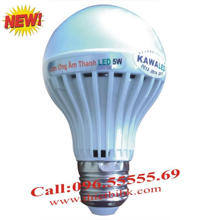 Đèn led cảm ứng âm thanh Kawa SB03 3W