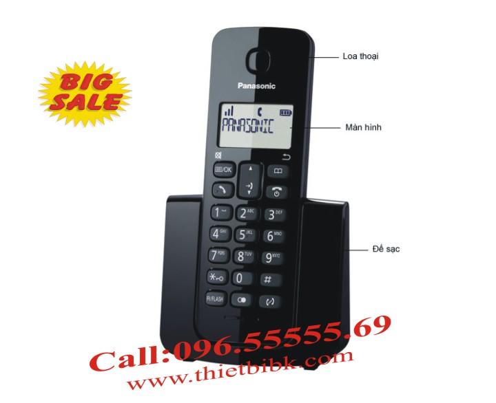 Điện thoại kéo dài Panasonic KX-TGB112 có màn hình rộng 1.4 inch