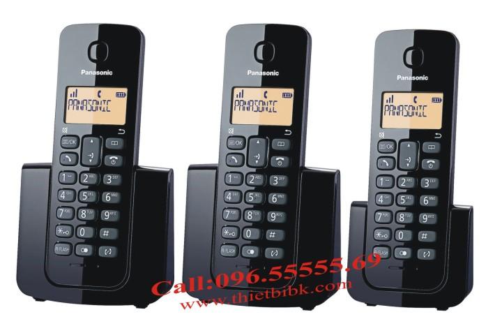 Điện thoại kéo dài Panasonic KX-TGB112  thêm máy con với Panasonic KX-TGB110