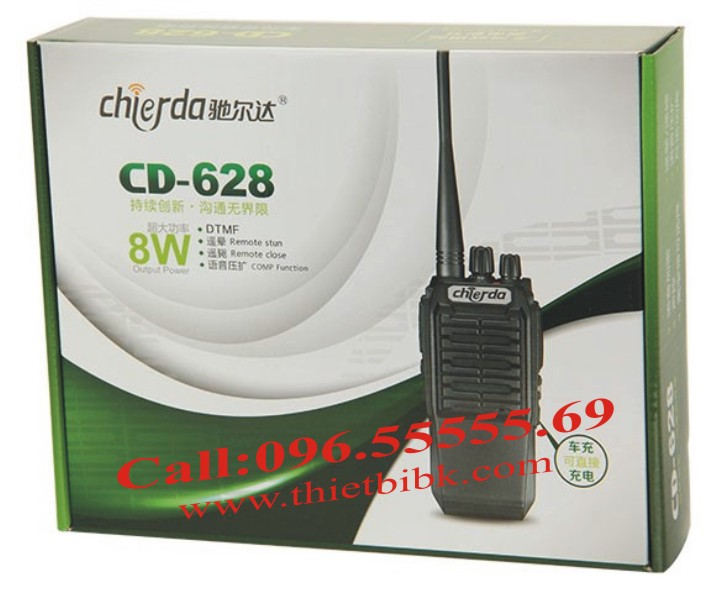 Bộ đàm Chierda CD-628 8W Long Range box