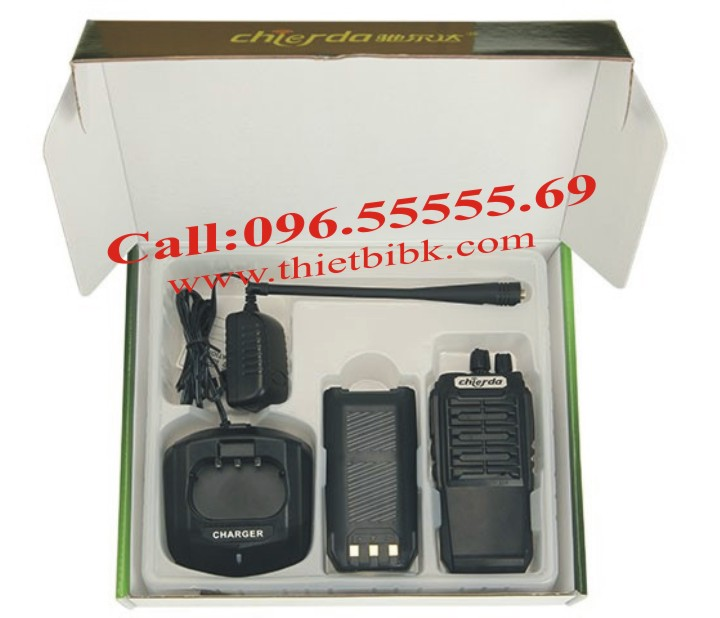 Bộ đàm Chierda CD-628 8W Long Range fullbox