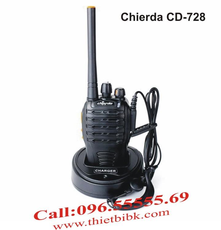 Bộ đàm Chierda CD-728 Waterproof 8Watt