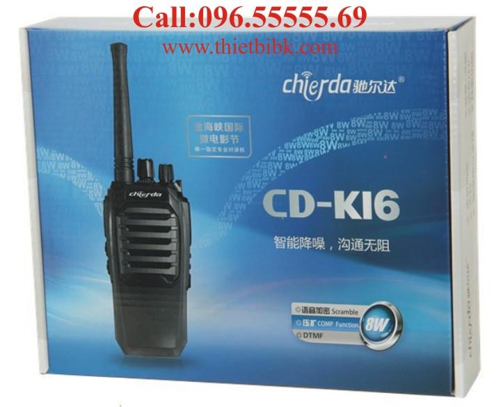 Bộ đàm Chierda CD-K16 8Watt High Power Box