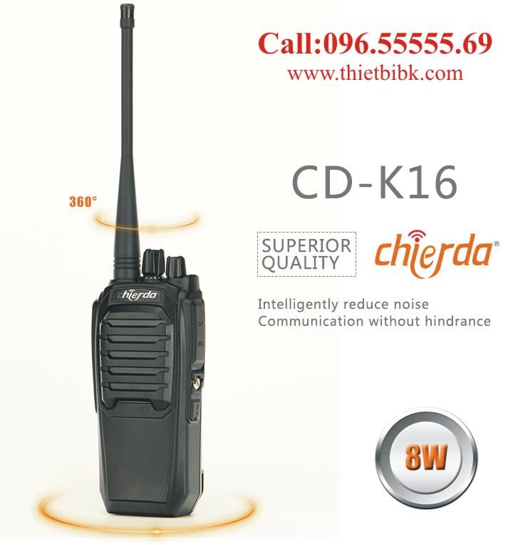 Bộ đàm Chierda CD-K16 8Watt High Power