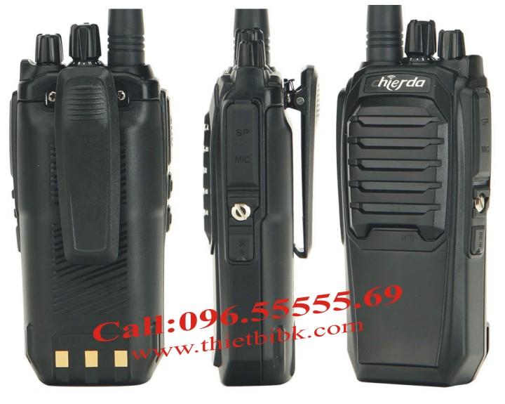Bộ đàm Chierda CD-K16 8Watt High Power thiết kế thanh lịch, chắc chắn