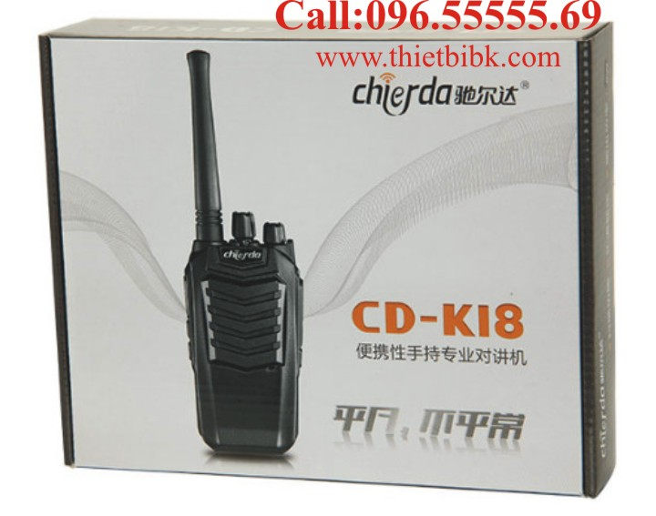 Bộ đàm Chierda CD-K18 Handheld VHF box