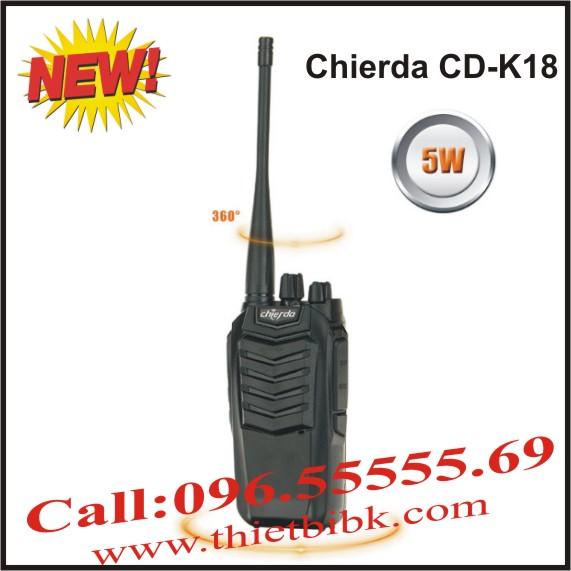Bộ đàm Chierda CD-K18 Handheld VHF