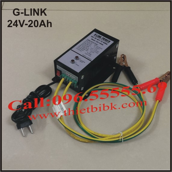 Bộ nạp ắc quy tự động G-Link Power 24V-20Ah