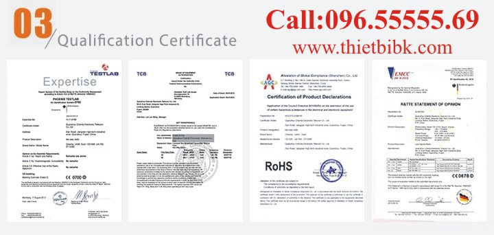 Chierda Qualification Certificate