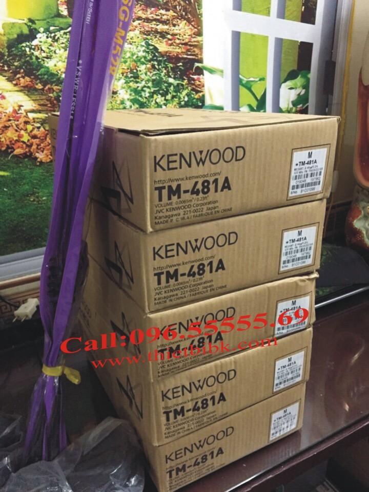 Bộ đàm Taxi Kenwood TM 481A UHF Bộ đàm trạm chính