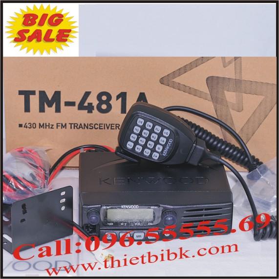 Bộ đàm Taxi Kenwood TM 481A UHF