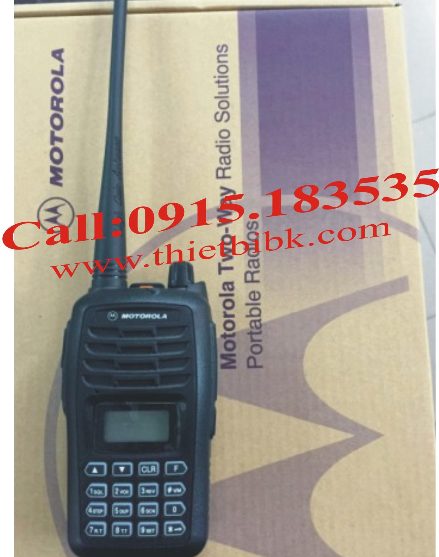 Bộ đàm Motorola GP-388Plus 199 kênh UHF/VHF