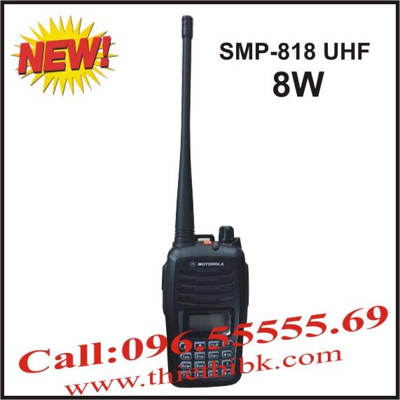 Bộ đàm Motorola SMP-818 UHF 8W