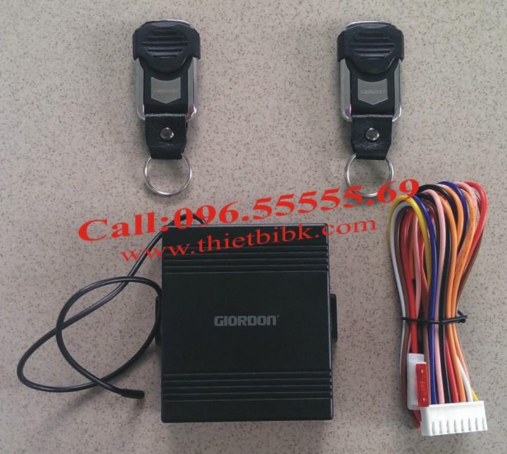 Bộ điều khiển khóa cửa ô tô Car Remote Control Central Door Lock với 2 Remote không chìa khóa