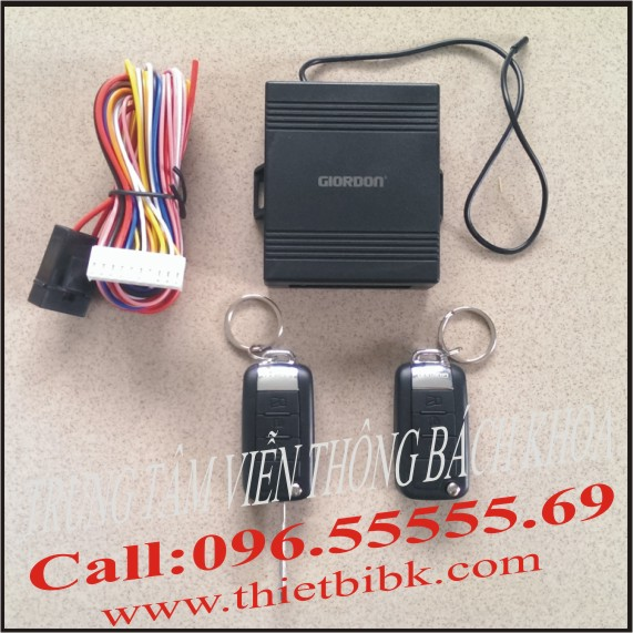 Bộ điều khiển khóa cửa ô tô Car Remote Control Central Door Lock banner