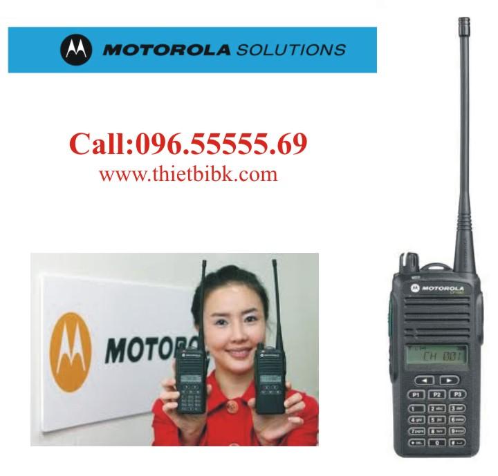 Máy bộ đàm Motorola CP1660 99 kênh dùng cho điều hành sản xuất tại nhà máy, khu công nghiệp