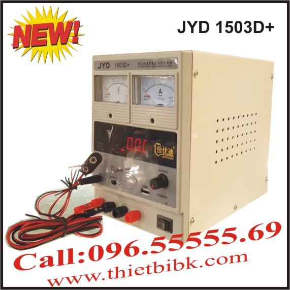 Máy cấp nguồn và báo sóng điện thoại di động JYD 1503D+ 15V 3A