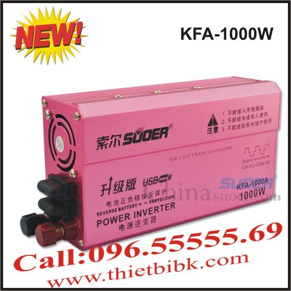 Máy kích điện SUOER KFA 1000W Power inverter