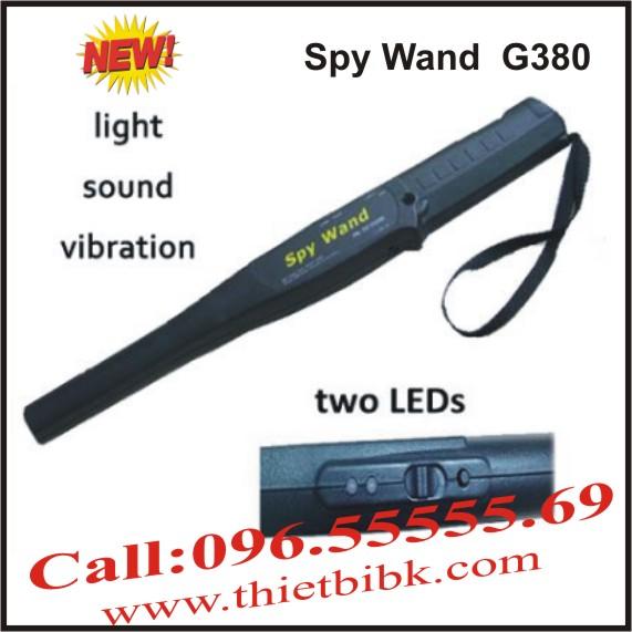 Máy dò kim loại cầm tay Spy Wand G380