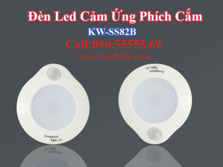 Đèn Led cảm ứng chuyển động phích cắm Kawa SS82B 3w  lắp đặt mọi nơi