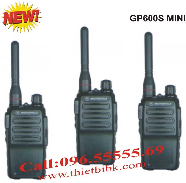 Bộ đàm cầm tay Motorola GP600S MINI dùng cho nhà hàng, quán ăn