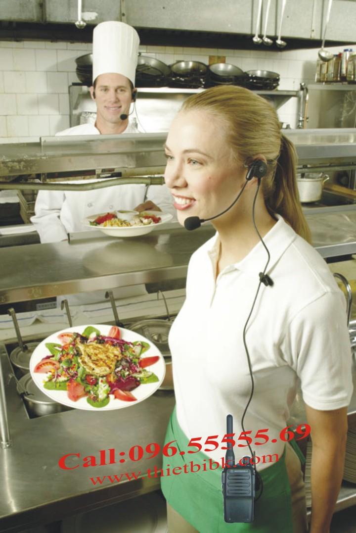 Bộ đàm cầm tay Motorola GP600S MINI dùng cho quán ăn