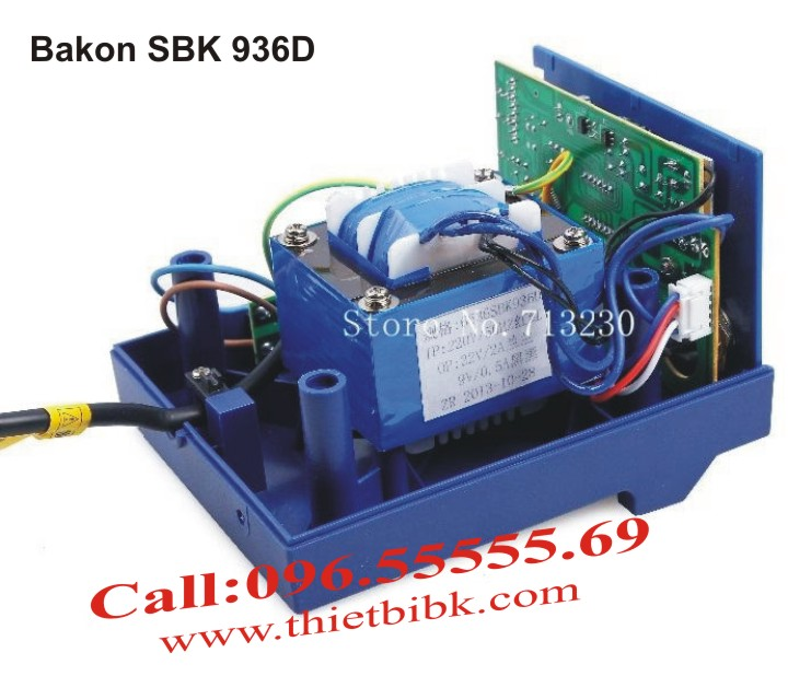 Máy hàn thiếc điều chỉnh nhiệt độ Bakon SBK 936D chất lượng cao, dử dụng cho thợ chuyên nghiệp