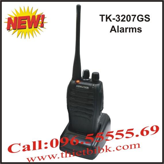 Bộ đàm cầm tay Kenwood TK-3207GS Alarms