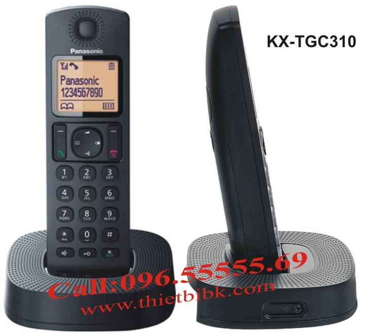 Điện thoại kéo dài Panasonic KX-TGC310 dùng cho gia đình