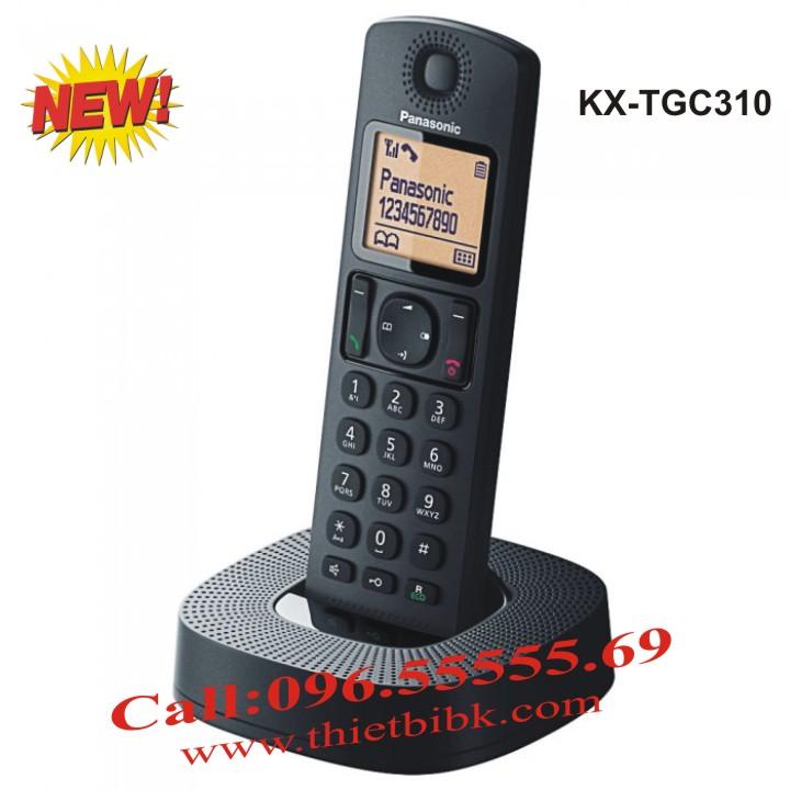 Điện thoại kéo dài Panasonic KX-TGC310 dùng cho văn phòng, công ty, hộ gia đình