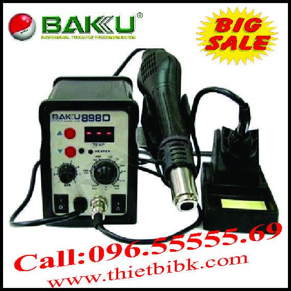Máy khò nhiệt và hàn thiếc BAKU 898D