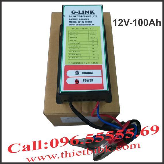 Bộ Sạc ắc quy tự động G-LINK 12V-100Ah