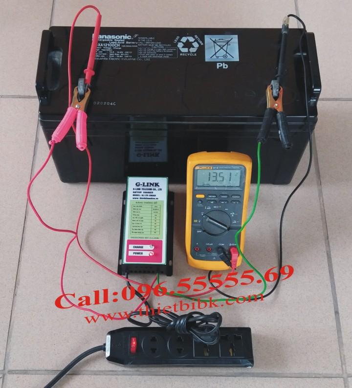 Bộ Sạc ắc quy tự động G-LINK 12V-200Ah dùng sạc ắc quy bộ kích điện