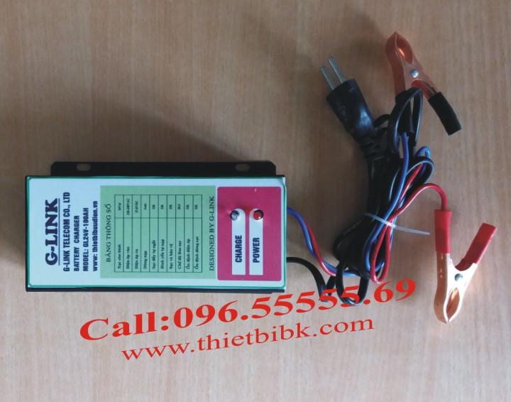 Bộ Sạc ắc quy tự động G-LINK 24V-100Ah dùng cho máy phát điện