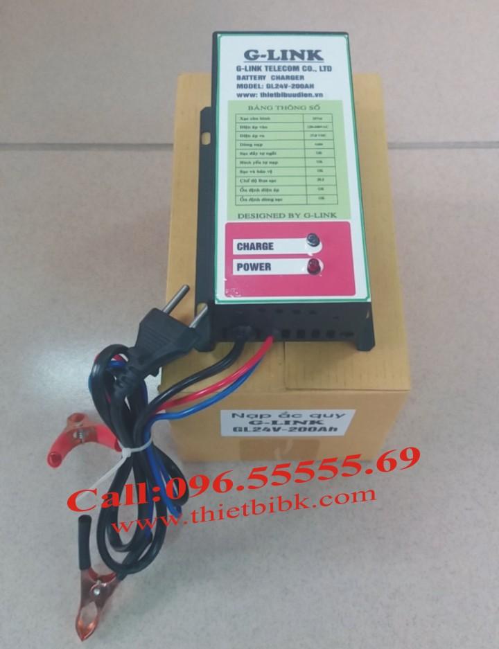 Bộ Sạc ắc quy tự động G-LINK 24V-200Ah dùng cho máy phát điện