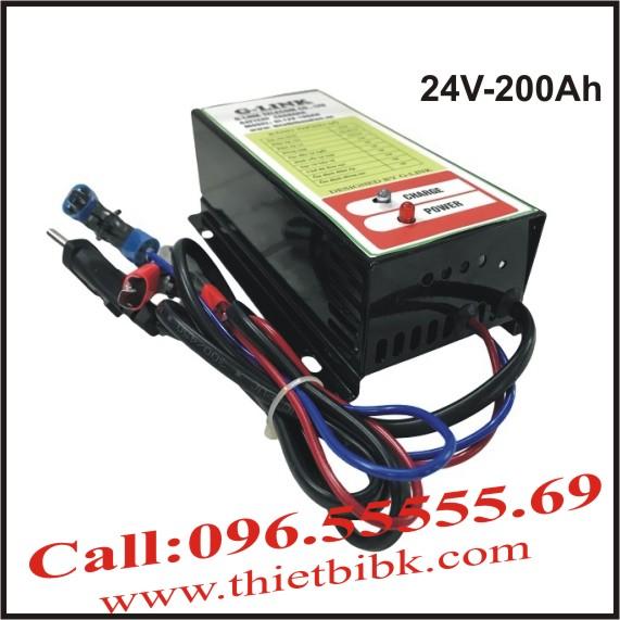 Bộ Sạc ắc quy tự động G-LINK 24V-200Ah