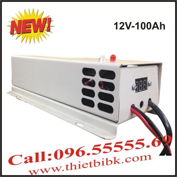 Bộ Sạc ắc quy tự động HITECH POWER V 12V-100Ah