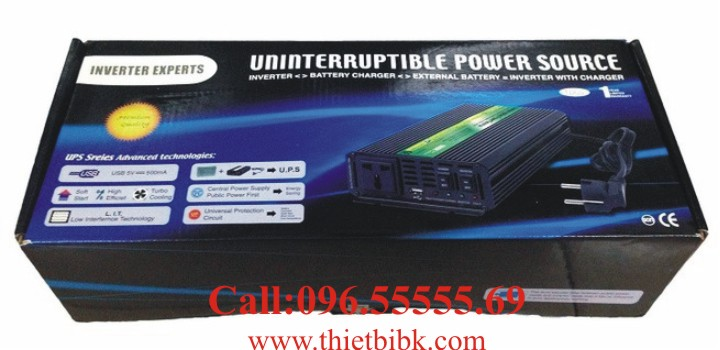 Bộ kích điện và sạc ắc quy tự động SUOER HDA-1000C 750W dùng cho camera an ninh