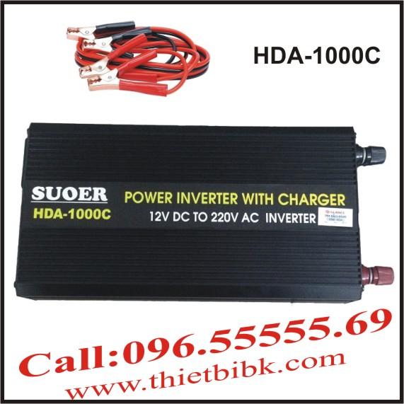 Bộ kích điện và sạc ắc quy tự động SUOER HDA-1000C 750W