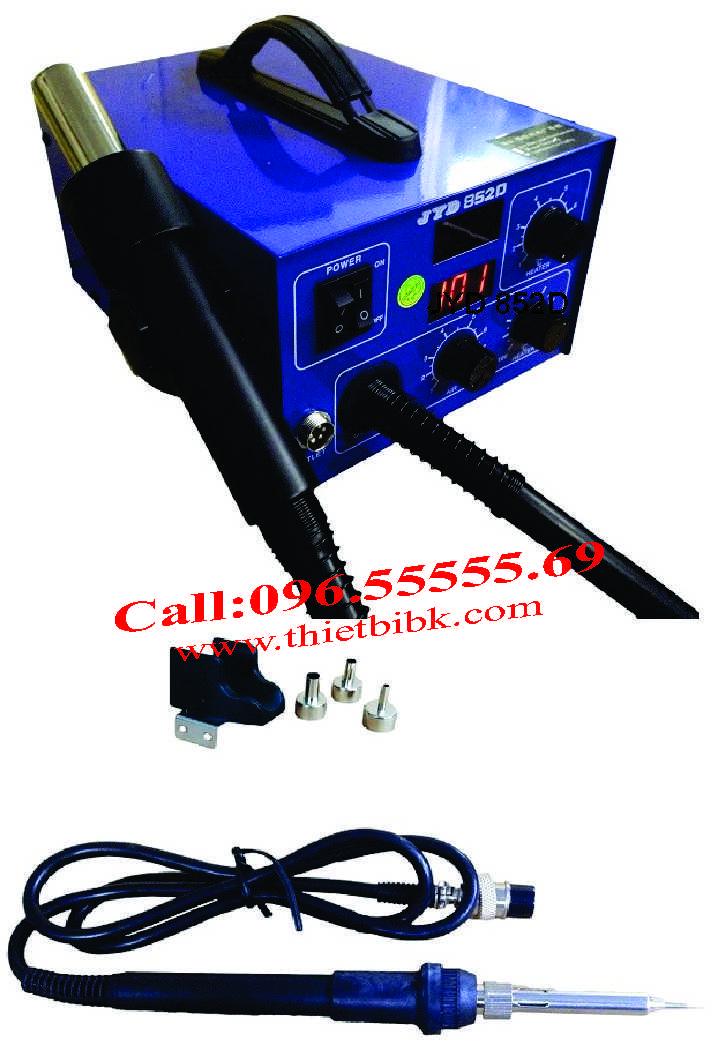 Máy khò nhiệt và hàn thiếc JYD 852D dùng cho thợ sửa điện tử