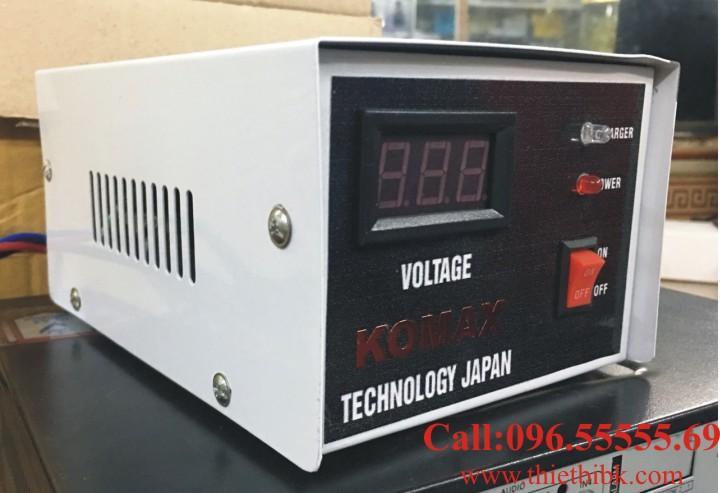 Bộ Sạc ắc quy tự động KOMAX KM 12V 200Ah sạc ắc quy dự phòng máy phát điện
