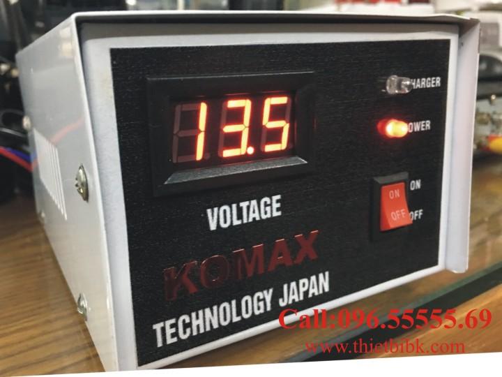 Bộ Sạc ắc quy tự động KOMAX KM 12V 200Ah sạc ắc quy ô tô xe máy