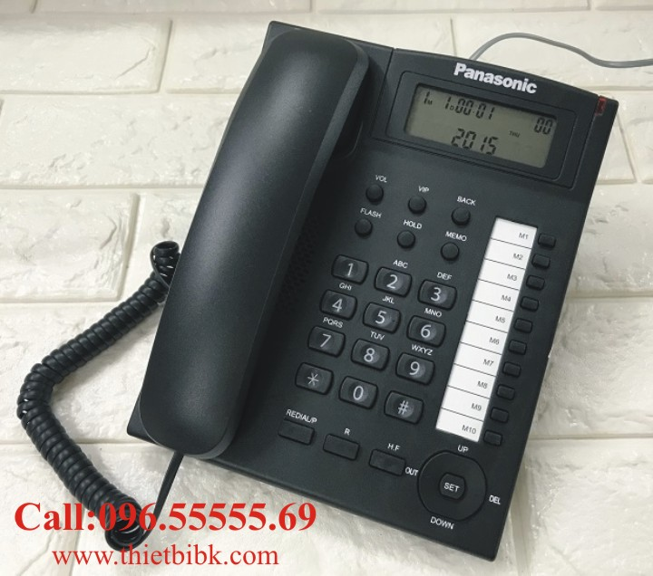 Điện thoại để bàn Panasonic KX-T880CID dùng cho văn phòng công ty