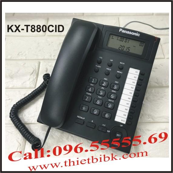 Điện thoại để bàn Panasonic KX-T880CID