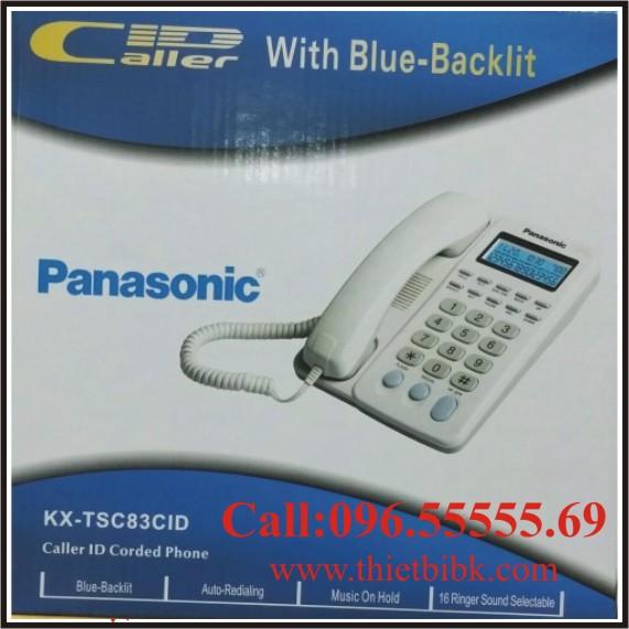Điện thoại để bàn Panasonic KX-TSC83CID